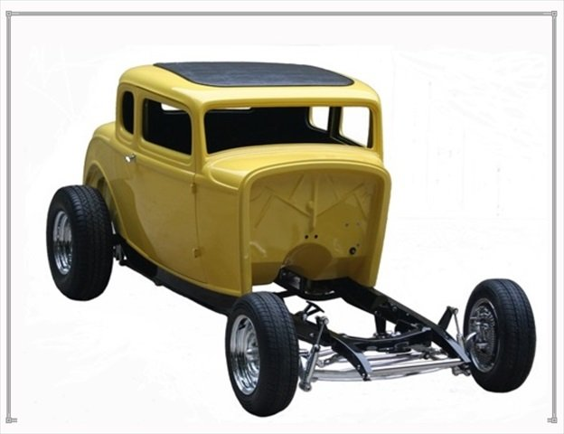 TRC Auto Reproductions - 32 Ford reproduction bodies and chis