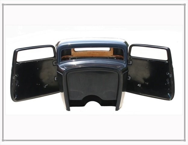 1932 ford 3 window coupe body for 1932 ford floor pan